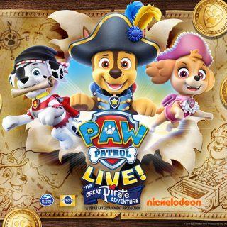 PAW Patrol Live (The Great Pirate Adventure) Is Coming To Sacramento + Ticket Giveaway