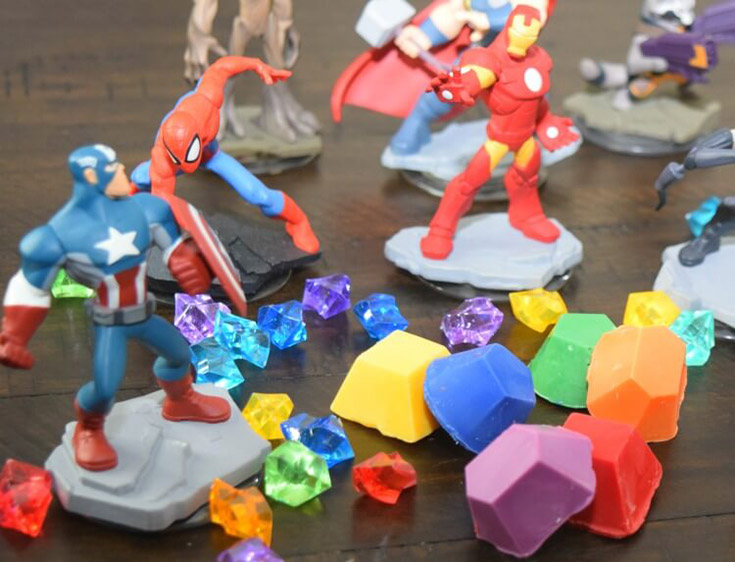 #13 Avengers Infinity Cake Stones