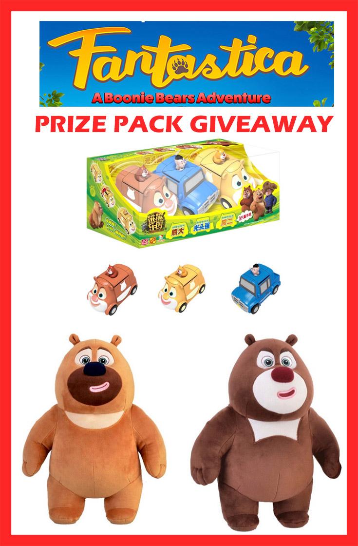 Fantastica Prize Pack Giveaway