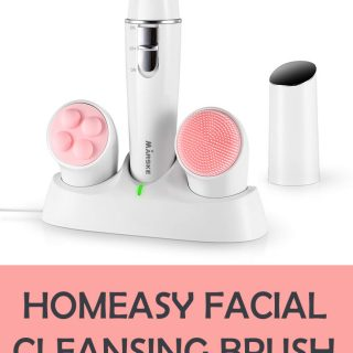 Homeasy Facial Cleansing Brush Giveaway
