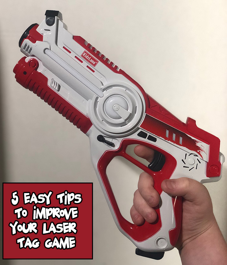 5 EASY Tips To Improve Your Laser Tag Game
