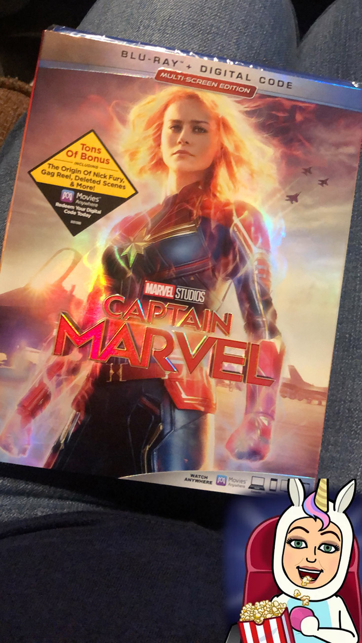 Captain Marvel NOW Available On Blu-ray & More