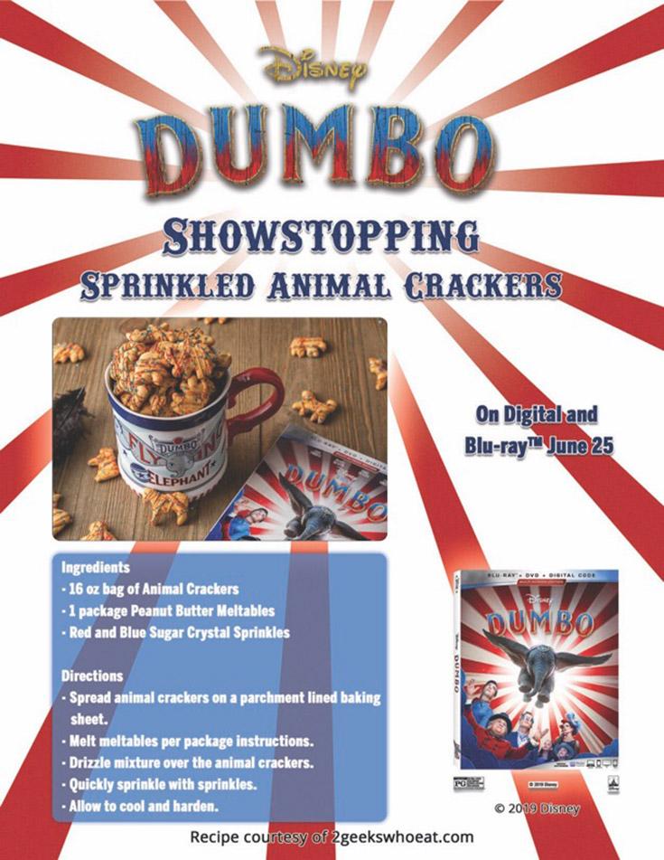 DUMBO Sprinkled Animal Crackers