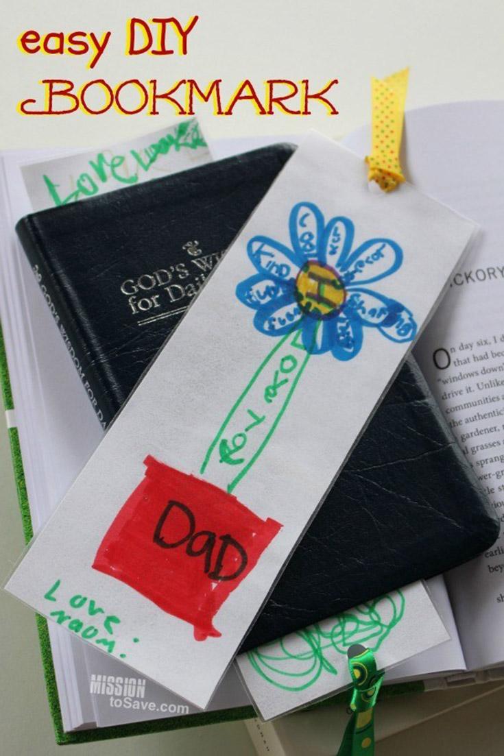 Easy DIY Bookmark
