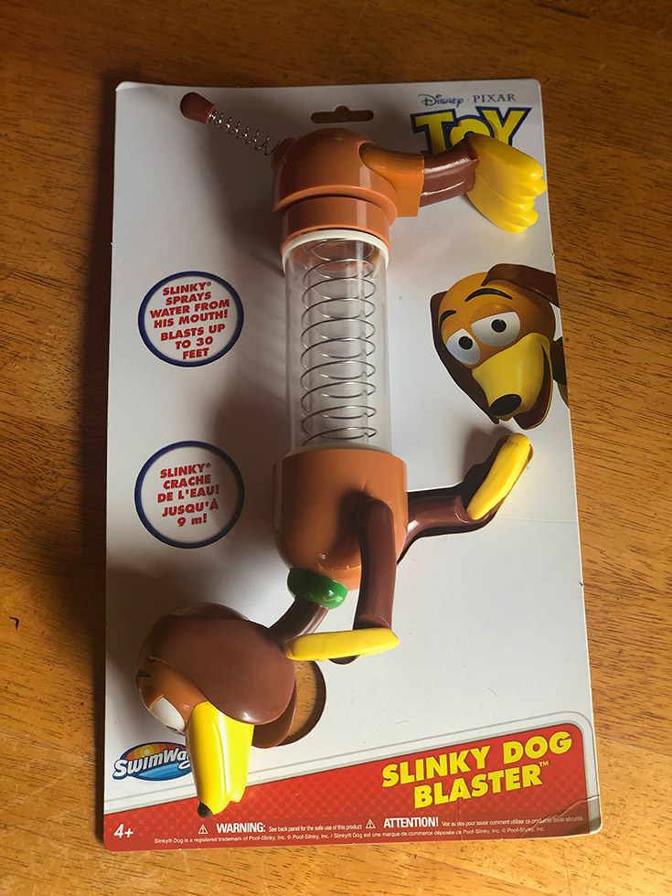 Toy Story Slinky Dog Blaster