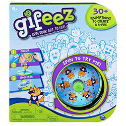 Gifeez Spin Your Art To Life