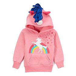 Doodle Pants Rainbow Unicorn 3D Hoodie