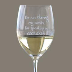 Lushy Wino - I'm not slurring my words. I'm speaking in cursive