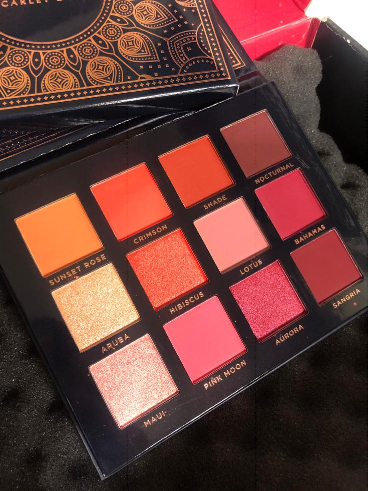 Ace Beaute - Scarlet Dusk Eyeshadow Palette