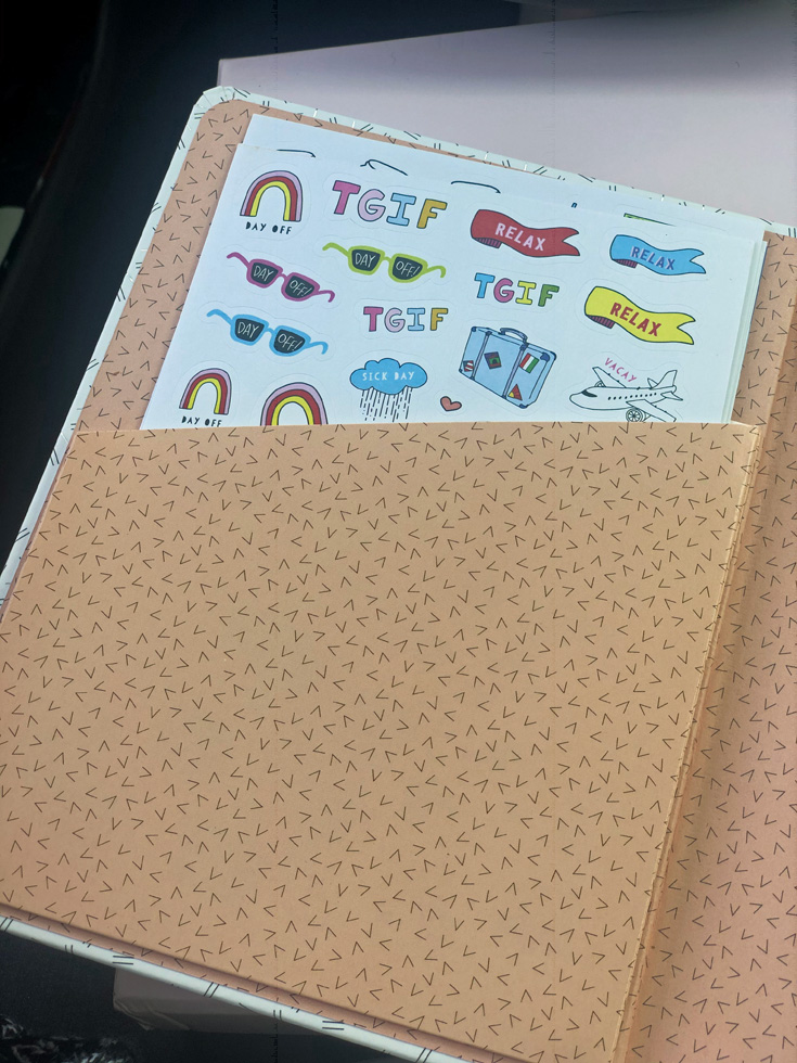 These Are The Days 17-Month Planner