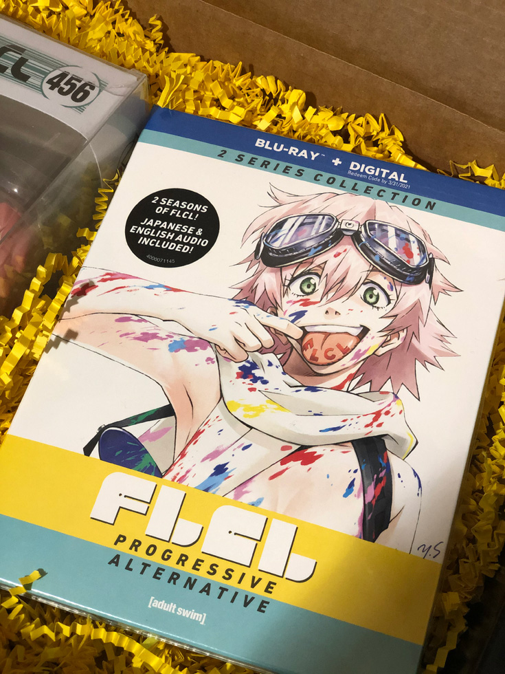 FLCL: Progressive & Alternative Blu-Ray Combo Pack