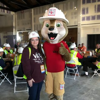 Hard Hat Tour Event - Great Wolf Lodge - Stefani Tolson