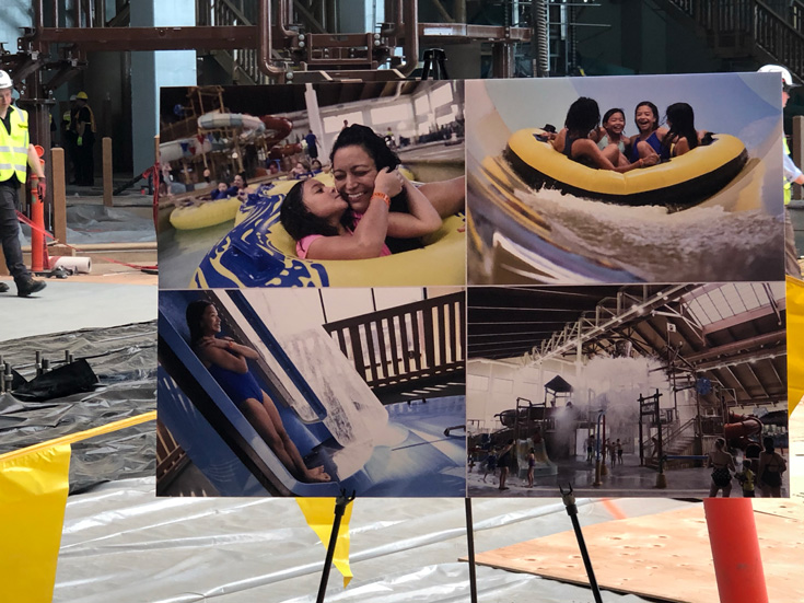 Great Wolf Lodge Indoor Water Park Under Construction