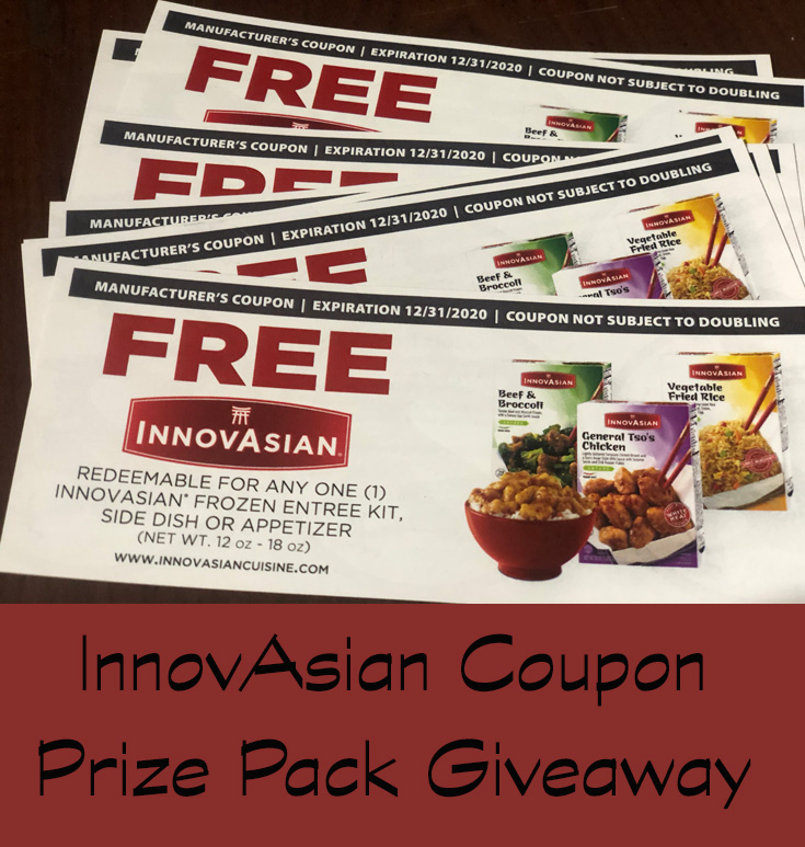 InnovAsian Coupon Prize Pack Giveaway