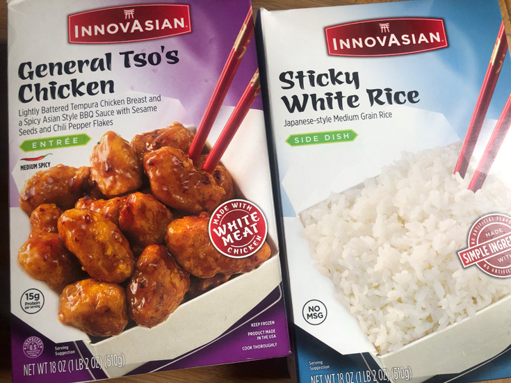 InnovAsian General Tso's Chicken & Sticky White Rice