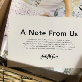 What Comes In The FREE FabFitFun Box