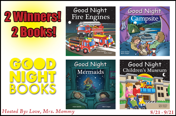 Good Night Books For Kids Giveaway
