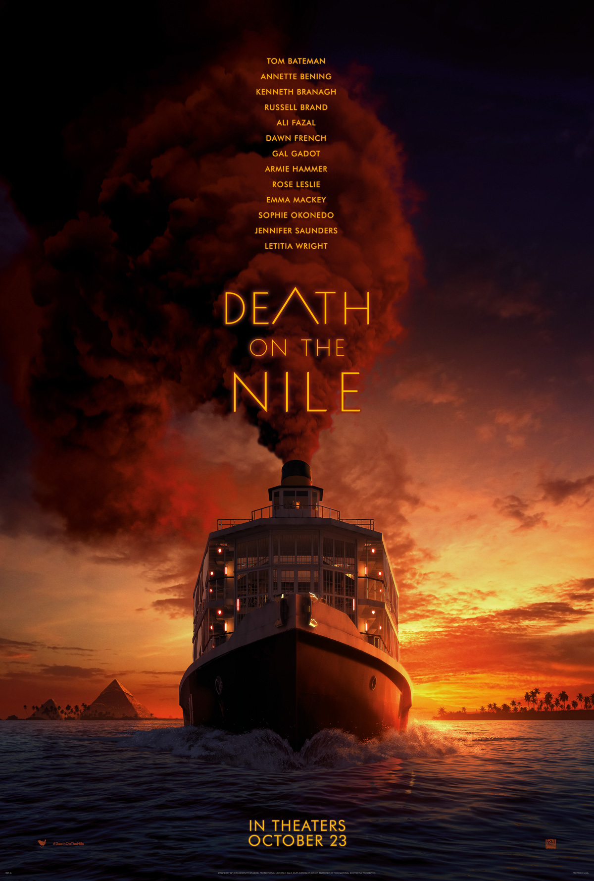 Death On The Nile - Movie Poster