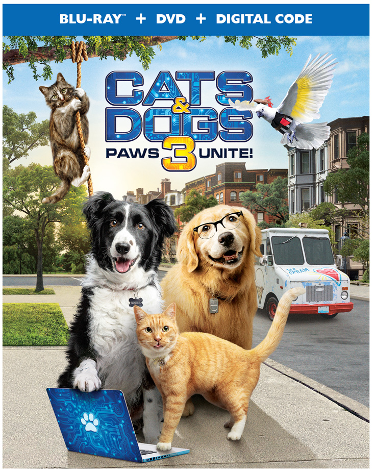 Cats & Dogs 3: Paws Unite! Now Available On Digital #CatsandDogs3