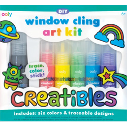 OOLY DIY Window Cling Art Kit Creatibles