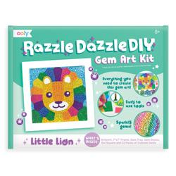 OOLY Razzle Dazzle DIY Gem Art Kit - Little Lion