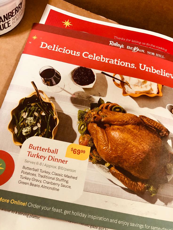 Butterball Turkey Dinner