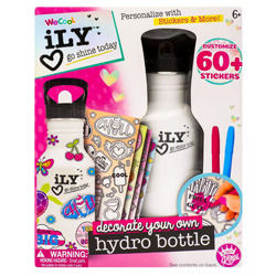 Activity Kings iLY Color Your Own Hydro Bottle