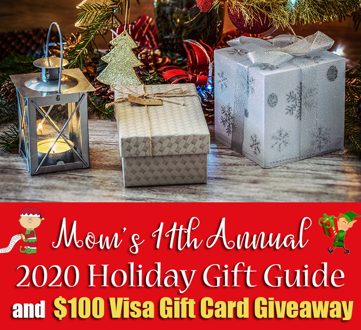 2020 Holiday Gift Guide + $100 Visa Gift Card Giveaway - Mom's Blog