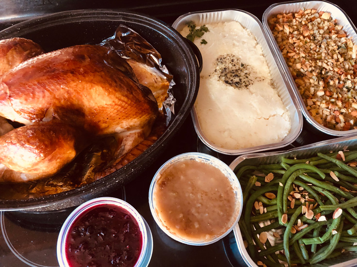 Raley's Butterball Turkey Dinner