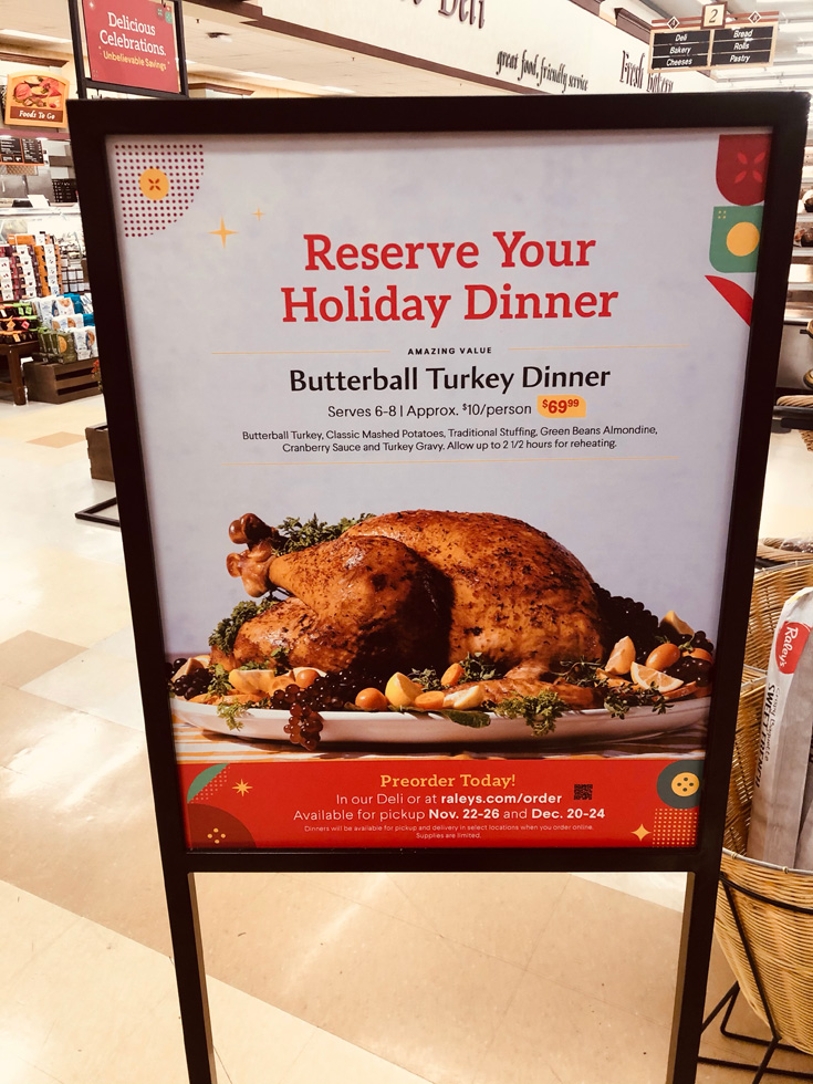 Raley's - Reserve Your Holiday Dinner