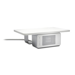 WarmView Wellness Monitor Stand with Ceramic Heater
