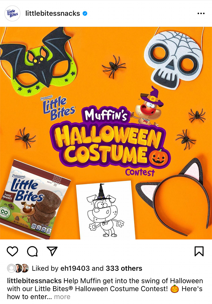 Muffin's Halloween Costume Contest
