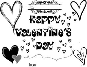 Free Valentine's Day Coloring Page For Kids
