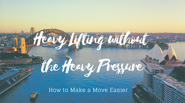 Heavy Lifting without the Heavy Pressure: How to Make a Move Easier
