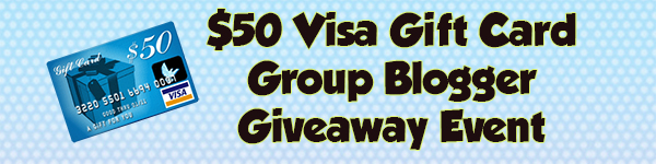 Blogger Opp: $50 Visa Gift Card Giveaway