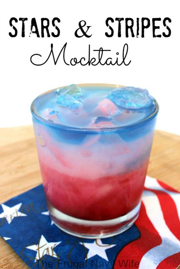 Stars & Stripes Mocktails
