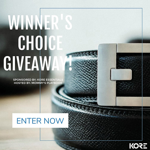 KORE Essentials Belt & Buckle Giveaway