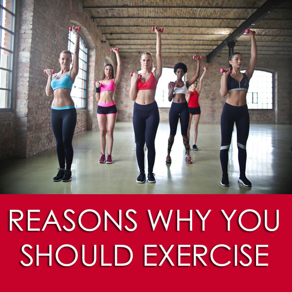 Reasons Why You SHOULD Exercise