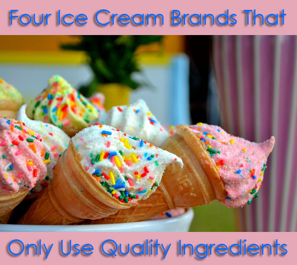 Four Ice Cream Brands That Only Use Quality Ingredients