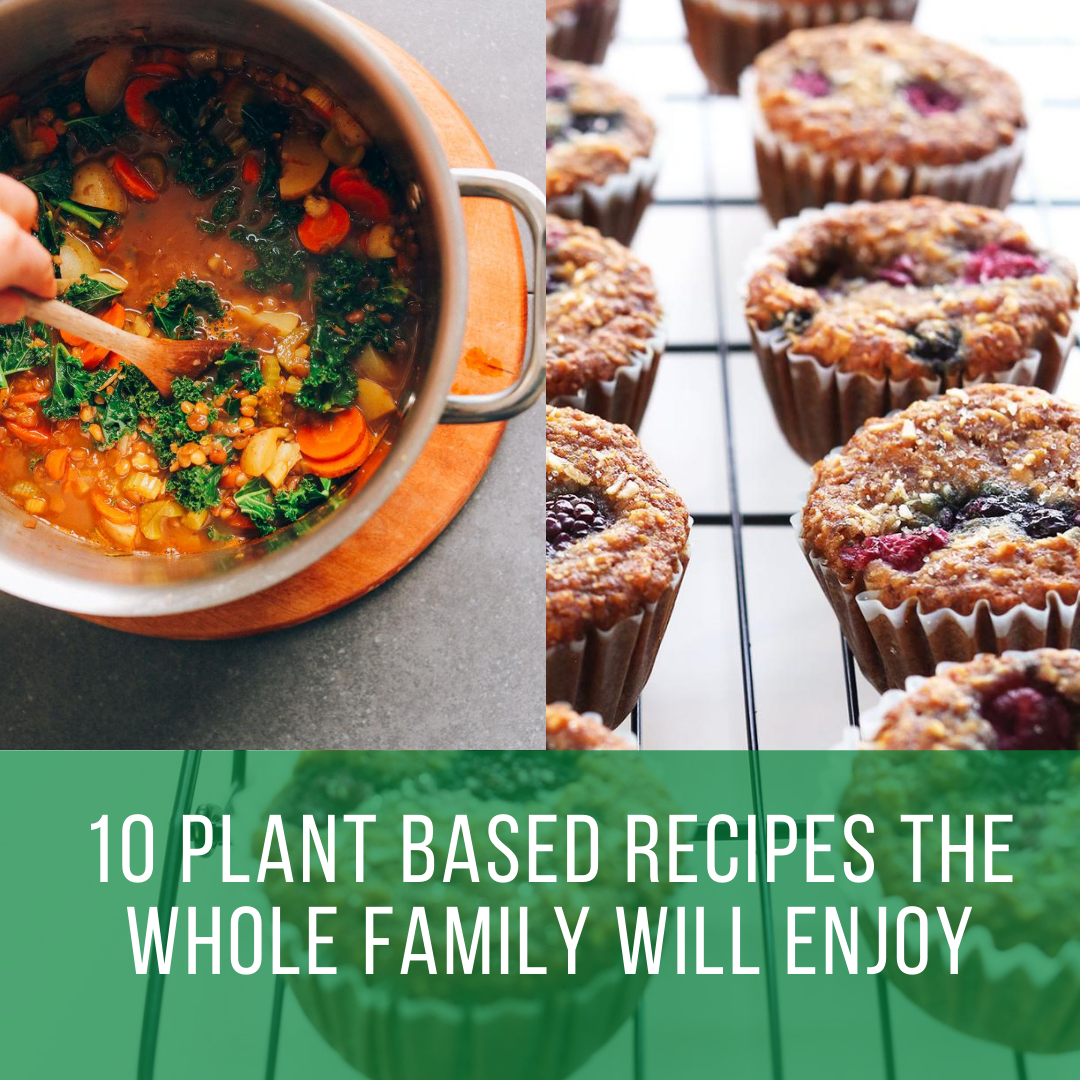 10 Plant Based Recipes The Whole Family Will Enjoy