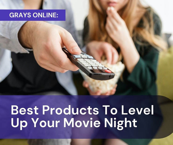 Best Products To Level Up Your Movie Night