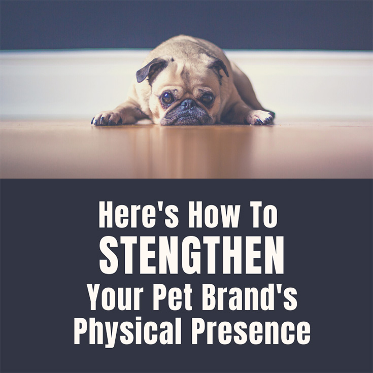 Here's How To Strengthen Your Pet Brand's Physical Presence
