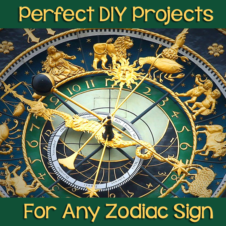 Perfect DIY Projects For Any Zodiac Sign